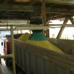 Open Vehicle Loading Chute - Sulphur